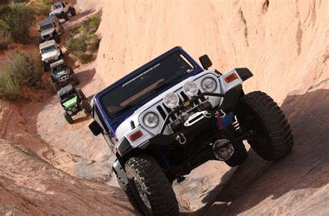 Jeeping In Moab 4wd Teaming Up With Rock 4 Wheelers For Easter Jeep