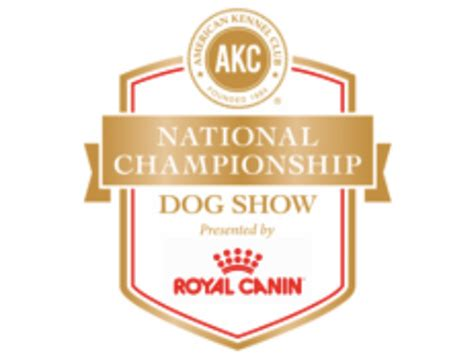 Akc Events Calendar Akc National Chionship Presented By Royal Canin To