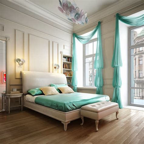 turquoise bedroom curtains turquoise bedroom design ideas 9 designs