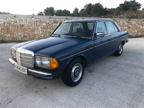 mercedes 230e w123 for sale mercedes benz w123 230e manual 1983 sold car and classic