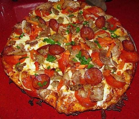 closest round table pizza hearty bacon supreme picture of round table pizza