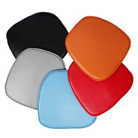 Eames Style Plastic Chair by Seat Pad Cushion For Eames Style Plastic Dining And