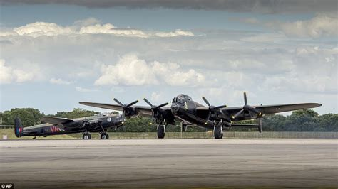 At Second Sight Sentinels dambusters reunited two second world war lancaster