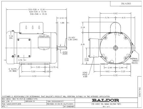 wiring baldor diagram motor l3510t wiring diagrams
