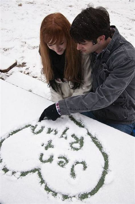 cute winter themes 10 romantic winter engagement photo ideas hative