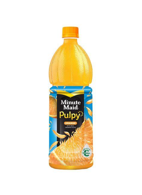minute maid juice pulpy orange btl  klikindomaret