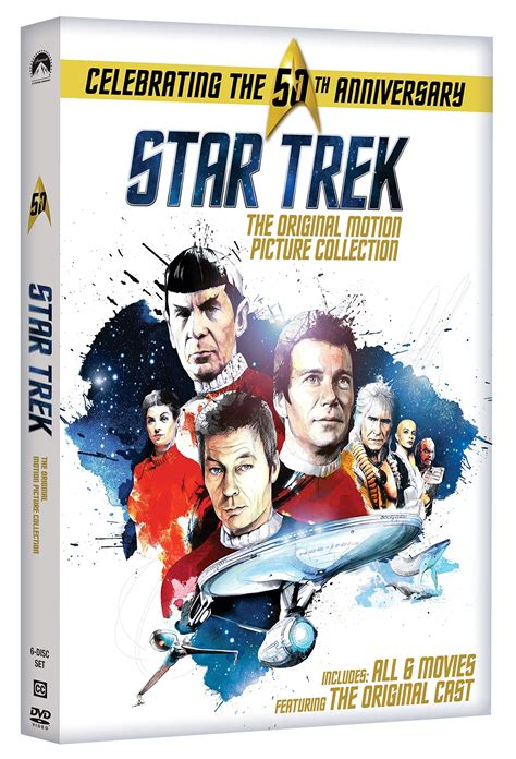 Collections Dvd Original trek complete original motion picture collection series dvd boxed set new ebay
