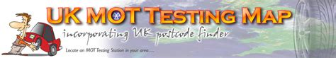 Uk Dialling Codes Lookup Mot Test Centres In The Uk Index
