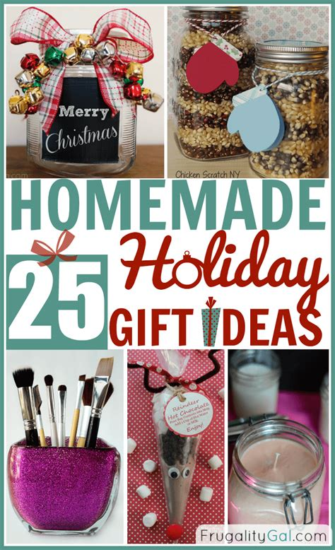 25 homemade holiday gifts