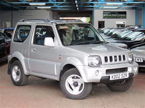 Suzuki Jimny Special Used 2002 Suzuki Jimny 1 3 Special 3dr For Sale In