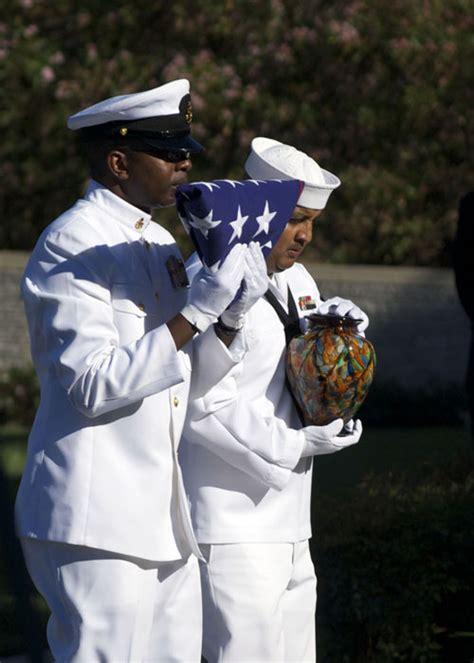navy renders honors  funeral  ernest borgnine
