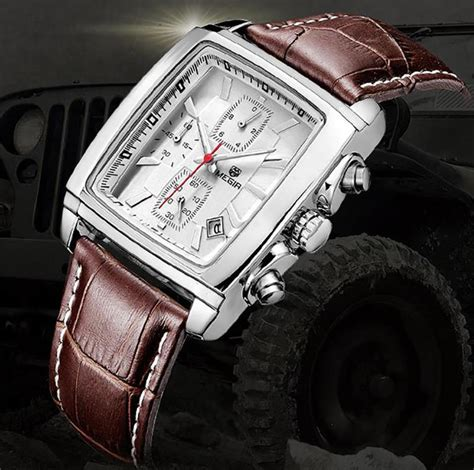reloj hombre megir chronograph watches luxury brand