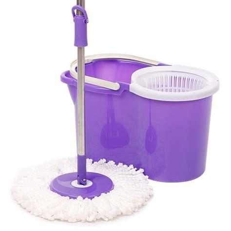 Baru Alat Pel Lantai Mop Alat Pel Lantai Supermop Alat Rumah magic mop mop alat pel lantai dengan pemeras otomatis barang unik kado ulang tahun