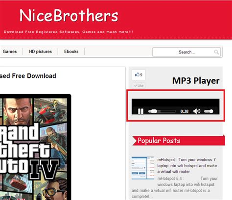 download mp3 from embed code nice brothers very easily embed mp3 player on your blog