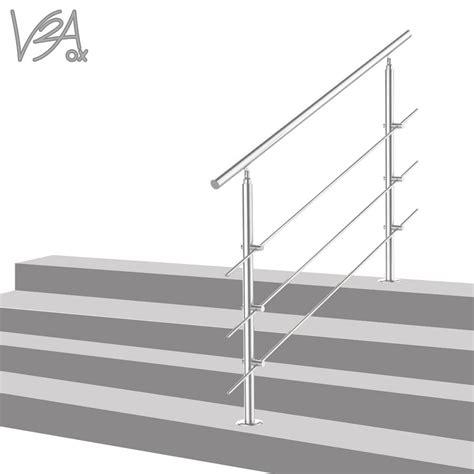 handlauf treppe edelstahl treppengel 228 nder edelstahl handlauf gel 228 nder real