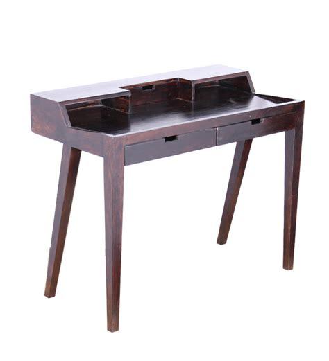 tangier sheesham wood writing desk by mudra