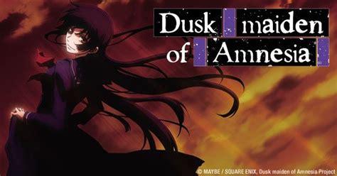 dusk maiden of amnesia dusk maiden of amnesia dub cast announced