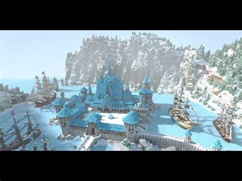 Minecraft Frozen   Arendelle Minecraft Project