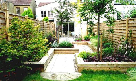 Small side yard japanese garden landscape, simple