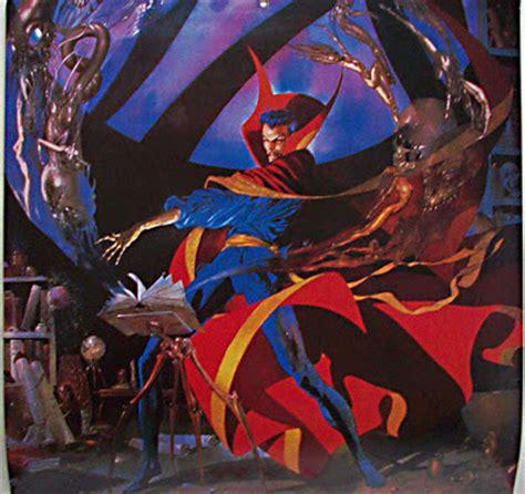 Doctor Strange 02 Poster Marvel Bingkai Poster Vintage sanctum sanctorum comix time warp part ii the modern