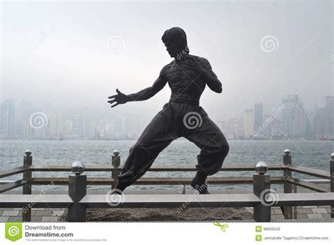film action hongkong bruce lee statue editorial stock photo image 36833243