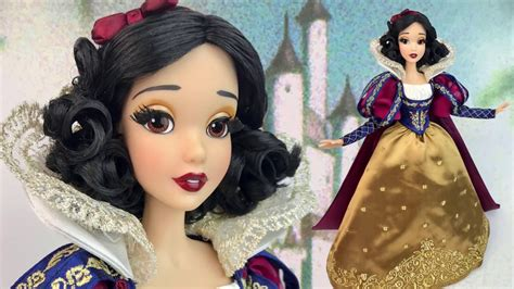 unboxing doll snow white d23 exclusive 17 limited edition doll review