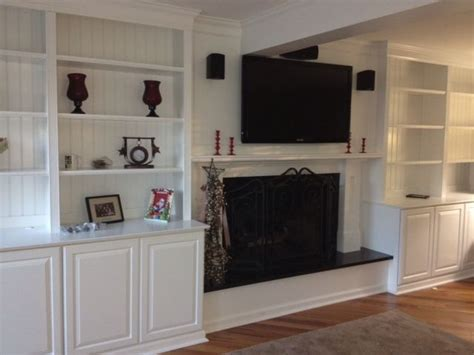 built in cabinets around fireplace pictures 26 best family room images on shelves