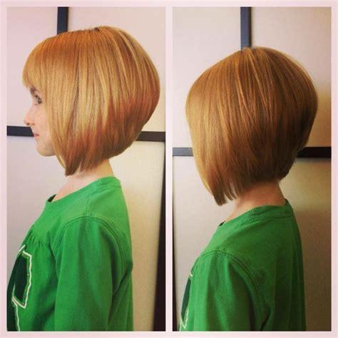hairstyles for a line haircut a line bob haircut precious for little girls hair