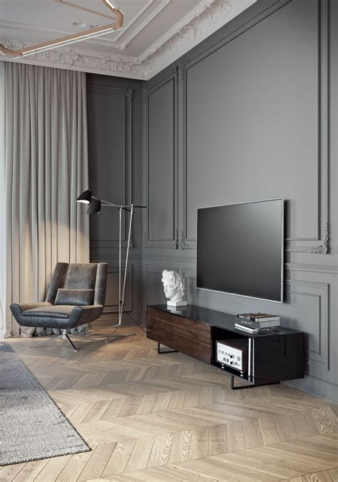 neo classical style four bedroom living room tv background 2290 best modern architecture images on pinterest modern