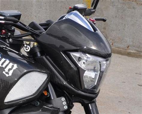 Motorrad Verkleidung Maske by F 252 R Suzuki B King Carbon Scheinwerfer Maske Verkleidung