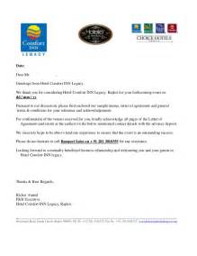 Hotel Room Booking Cancellation Letter Sample Letter Of Agreement Bqt