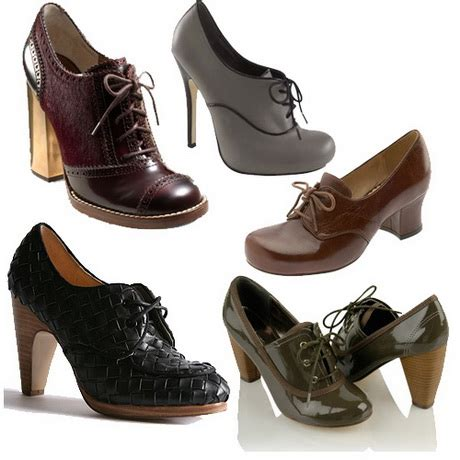 high heel oxford shoes high heeled oxfords