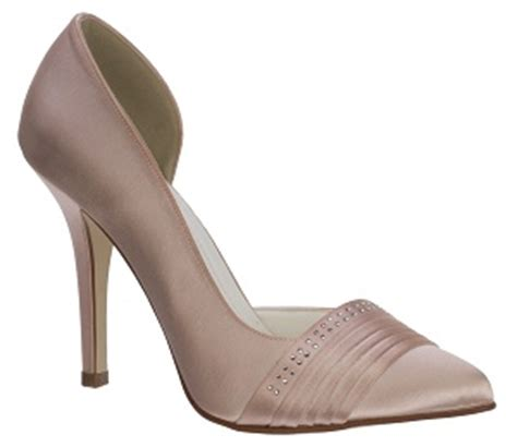sancerre dyed dusty pink wedding shoes by perdita s