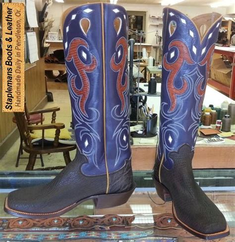 Custom Handmade Boots - handmade boot exles at staplemans custom boots shoes