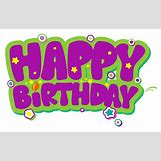 Happy Birthday Png | 6085 x 3881 png 634kB