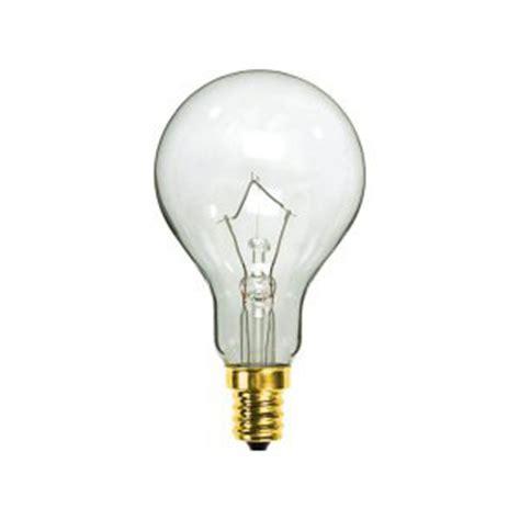 40 watt a15 clear e12 candelabra base industrial grade bulb