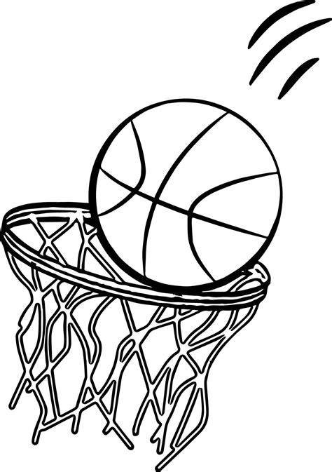 basketball net coloring pages basketball jump shot coloring pages basketball coloring