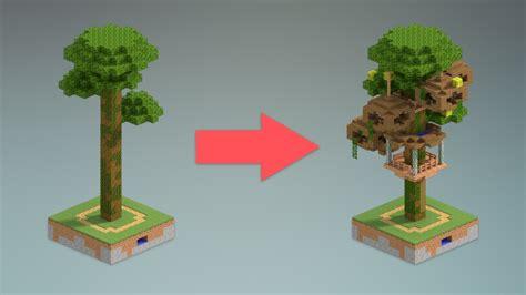 jungle tree house design minecraft youtube
