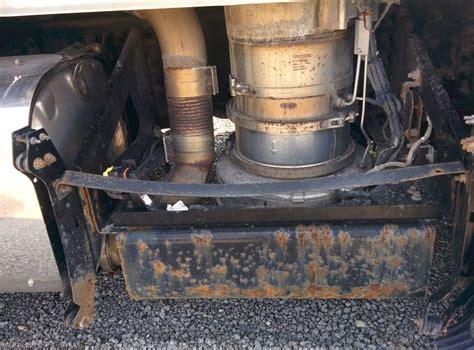 volvo vnl stock vv   diesel particulate filter dpf tpi