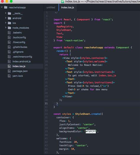 react js flexbox layout dissecting whatsapp layout through react native react