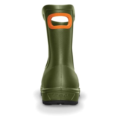 crocs wellie boot mens crocs mens wellie boot army green mid height