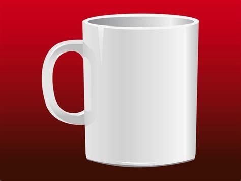 vector coffee mug design basic coffee drinking mug vector vector free download