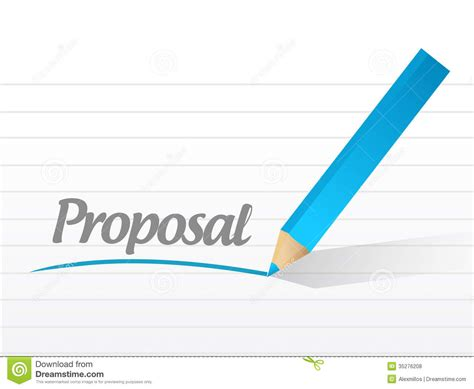 design proposal drawings word proposal written on a white piece of paper stock