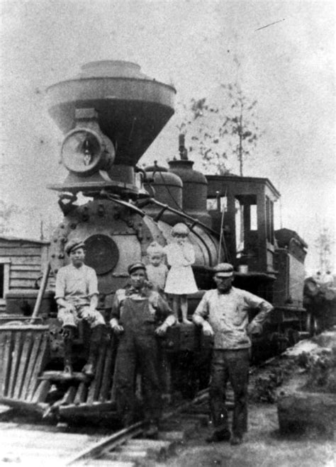 Washington County Florida Records Florida Memory Railroad Workers By Log Washington County Florida