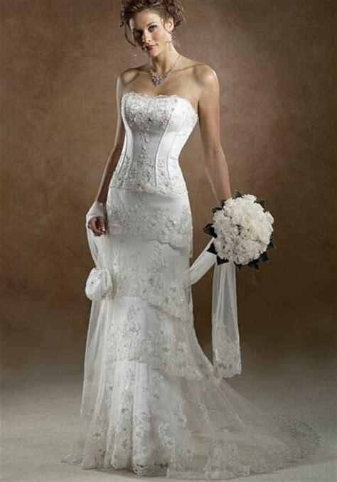 bridal dresses  older women bridal wears
