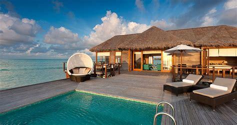 hotel rooms water caribbean maldives villas find best villas with pools