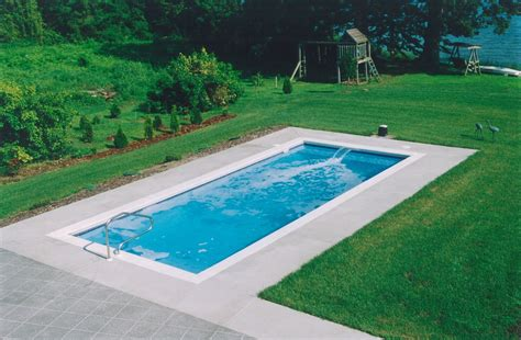 inground lap pool small lap pool pools for home