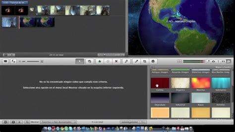 Tutorial On Imovie 09 | tutorial basico imovie 09 mac youtube