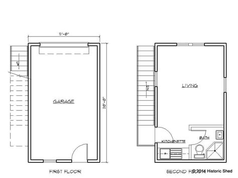 Awesome One Garage Apartment Floor Plans 19 Pictures