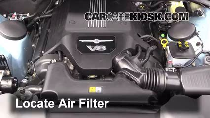 how cars engines work 2005 ford thunderbird engine control 2002 2005 ford thunderbird engine air filter check 2004 ford thunderbird 3 9l v8